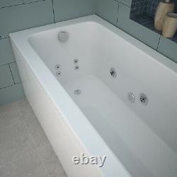 1500 1600 or 1700mm Whirlpool Jacuzzi Type Acrylic Spa Bath + Light+Waste+13 jet