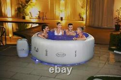 2021 Lay-Z-Spa Paris 4-6 Person Hot Tub With Lights & 48HR FREE DELIVERY