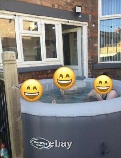 6 Man Hot Tub Clever Spa Monte Carlo LED Lights
