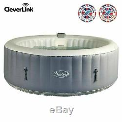 BRAND NEW CleverSpa Monte Carlo 6 Person Hot Tub LED LIGHTS like Lazy Z Spa