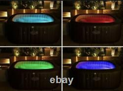 BRAND NEW Lay-Z Spa Maldives Hydrojet Pro 7 Person Hot Tub With LED Lights 2021