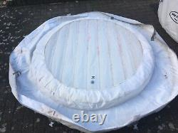 Bestway Lay-Z-Spa Paris AirJet Inflatable Hot Tub with LED Lights for 4-6