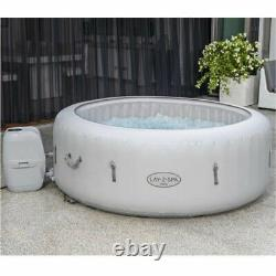 Bestway Lay-Z-Spa Paris Hot Tub with Built In LED Light System AirJet 4-6 people