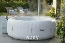 Bestway Lay-Z-Spa Paris Inflatable Hot Tub 4-6 People LED Lighting 2021