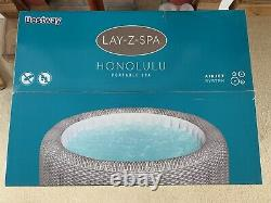 Bnib Lay Z Spa Honolulu Hot Tub (led Lights) Insured Delivery (6 Person)