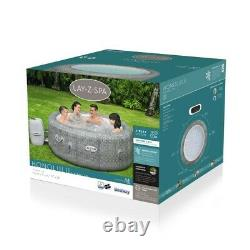Brand NEW 2021 Lay-Z-Spa Honolulu AirJet 6 Person LED LIGHTS Hot Tub Trusted