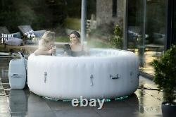 Brand NEW Lay Z Spa PARIS 6 Person Hot Tub LED Lights 7 Colours Lazy spa