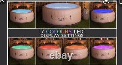 Brand NEW Lay Z Spa PARIS LED 4-6 Person LED LIGHTS Inflatable Hot Tub 2021 Lazy