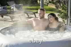 Brand New Lay Z Spa Paris 2021 Version 6 Person Hot Tub LED Lights RAPID 24HRS