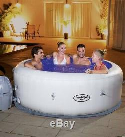Brand New Sealed Lazy-Z-Spa Paris Hot Tub 4/6 People. With Lights