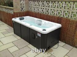 Canadian Spa Yukon 2 Person 16 Jet Plug & Play Electric Hot Tub with LED Lights