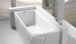 Carron Sigma 1700 x 750 11 Jet Whirlpool Bath Jacuzzi Spa + Free LED Light