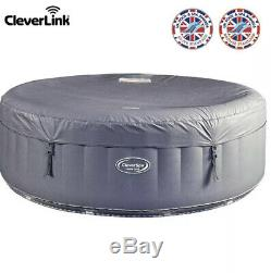 CleverSpa Monte Carlo Hot Tub Spa, 6 Person, LED Lights, app, wifi, Brand New boxed