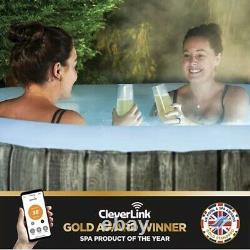 Cleverspa Waikiki Clever Spa 4 Person Hot Tub 2021 With Lights Like Lay Z Spa