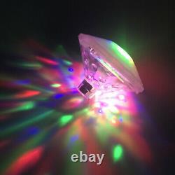 Floating Sensory Colorful LED Light Underwater Lazy Spa Hot Tub Swimming Pool UK