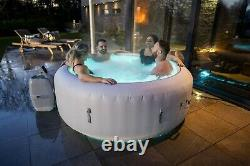 HOT TUB 2021 Lay Z Lazy Spa Paris 4-6 Person Luxury Massage Air Jet LED Lights