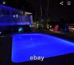 Hot Tub Spa LED Light RGB Color Changing Jandy Hayward Bluetooth pool spa LED
