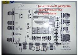 Hot tub controller Pack fit JAZZI2-3P Jazzi 3 pump spa + ET-H3000 + 12VDC light