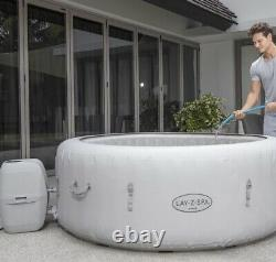IMMEDIATE DISPATCH Lay z Spa Paris 6 Person Hot Tub With LED Lights New