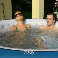 Inflatable Portable Jetted Hot Tub Spa With Cover, home Massage, Warm And Ice Bat