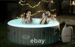 LED Hot Tub Lay z Spa Bali Hot Tub x4 Person with Changing LED lights