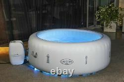 Lay-Z-Spa 54148 Paris Hot Tub with LED Light FREEZE SHIELD 2021 with REMOTE UK