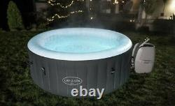 Lay Z Spa BALI AirJet Hot Tub 2021 Model LED Lights NEW 2 Year Warranty