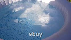 Lay-Z-Spa Bahamas Inflatable Spa Hot Tub Jacuzzi with LED Lights Upgrade