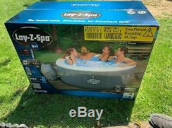 Lay-Z Spa Bali 4 Person Hot Tub LED Lights + 24 months warranty in your name