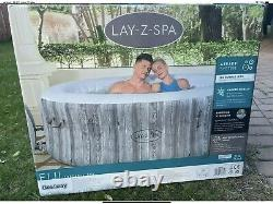 Lay Z Spa Fiji 4 Person Hot Tub 2021 Freeze Shield LED Lights Included