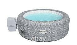 Lay-Z-Spa Honolulu 6 Person Grey Rattan Hot Tub LED Lighting Brand New