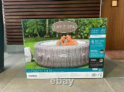 Lay Z Spa Honolulu 6 Person Hot Tub 2021 Freeze Shield & LED Lights (like Vegas)