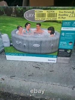 Lay-Z-Spa Honolulu 6 Person Hot Tub NEW 2021 Model LED Lighting / BRAND NEW