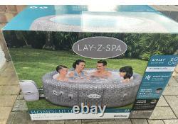 Lay-Z Spa Honolulu 6 Person Hot Tub New 2021 Model LED Lighting Brand New