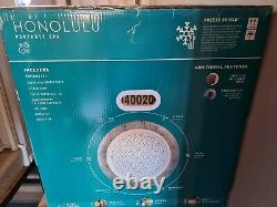 Lay-Z-Spa Honolulu 6 Person LED Lights Hot Tub Collection Plymouth Only