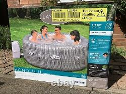 Lay Z Spa Honolulu Airjet LED Lights 6 Person Hot Tub 2021 Brand New