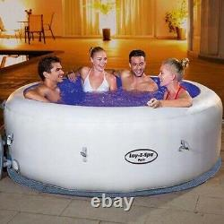 Lay-Z-Spa Lazy Paris 6 Person Hot Tub Jacuzzi LED LIGHTS Brand New 2021