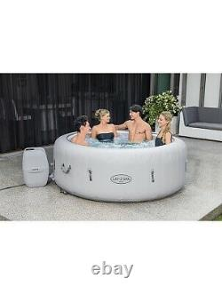 Lay-Z-Spa Lazy Paris 6 Person Hot Tub Jacuzzi LED LIGHTS Brand New Free Delivery