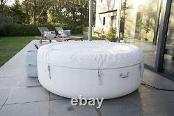 Lay Z Spa Lazy Paris 6 Person Hot Tub Jacuzzi Led Lights NEXT DAY DELIVERY
