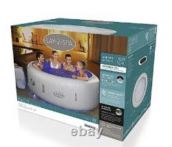 Lay-Z-Spa Lazy Paris 6 Person Hot Tub Jacuzzi With LED Lights