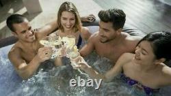 Lay Z Spa Maldives Hydrojet Pro Hot Tub 7-8 Persons Led Lights Warranty