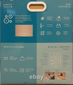 Lay-Z-Spa New York Blue ParisLED LIGHTSHot Tub Brand New FREE DELIVERY