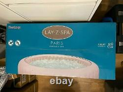 Lay Z Spa PARIS 4-6 Person 2021 Inflatable Hot Tub LED Lights