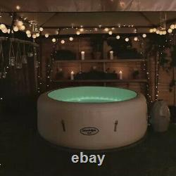 Lay-Z-Spa PARIS 4-6 Person Hot Tub LED Lights FAST & FREE DELIVERY