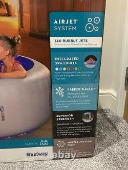 Lay Z Spa PARIS 4-6 Person Hot Tub NEW 2021 Model LED Lights Fast Shipping
