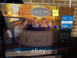 Lay Z Spa PARIS Hot Tub LED Lights. NEW 2021 MODEL NOT A HAWAII OR Miami BNIB