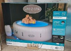 Lay-Z-Spa ParisLED LIGHTS6 Person Hot Tub Brand New 2021 MODEL Free Delivery