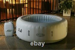 Lay -Z-Spa Paris 4-6 Person Hot Tub with Colourful LED Lights NEXT DAY DELIVERY