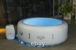Lay -Z-Spa Paris 4-6 Person Hot Tub, with Colourful Lights inc NEXT DAY DELIVERY