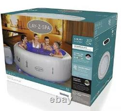 Lay Z Spa Paris 6 Person 2021 Hot Tub Jacuzzi Led Lights FREE NEXT DAY